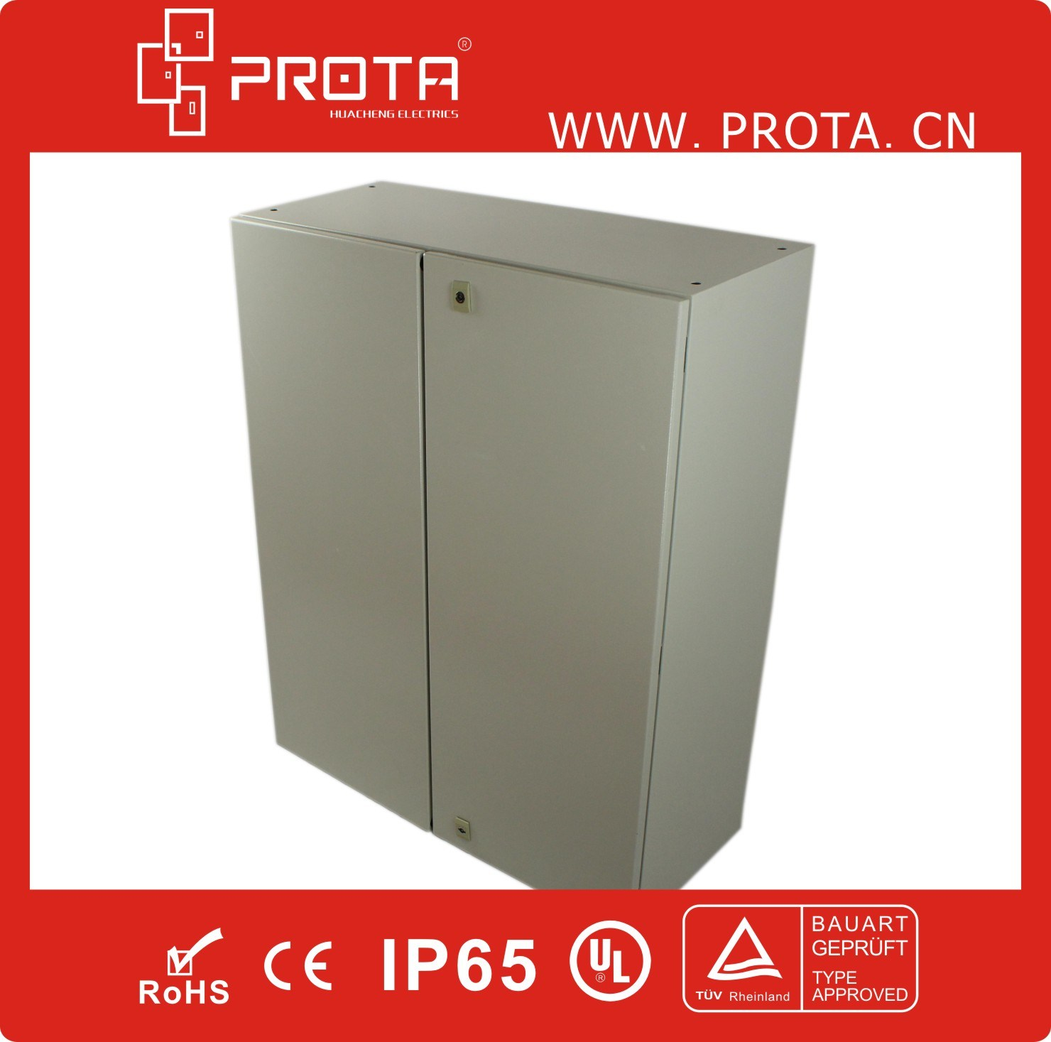 Waterproof Metal Electrical Enclosure Distribution Box