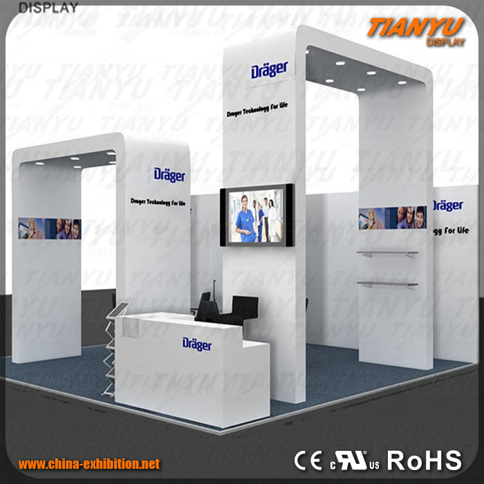 Exhibition Stand Or Booth : China metal advertising exhibition stand booth design photos