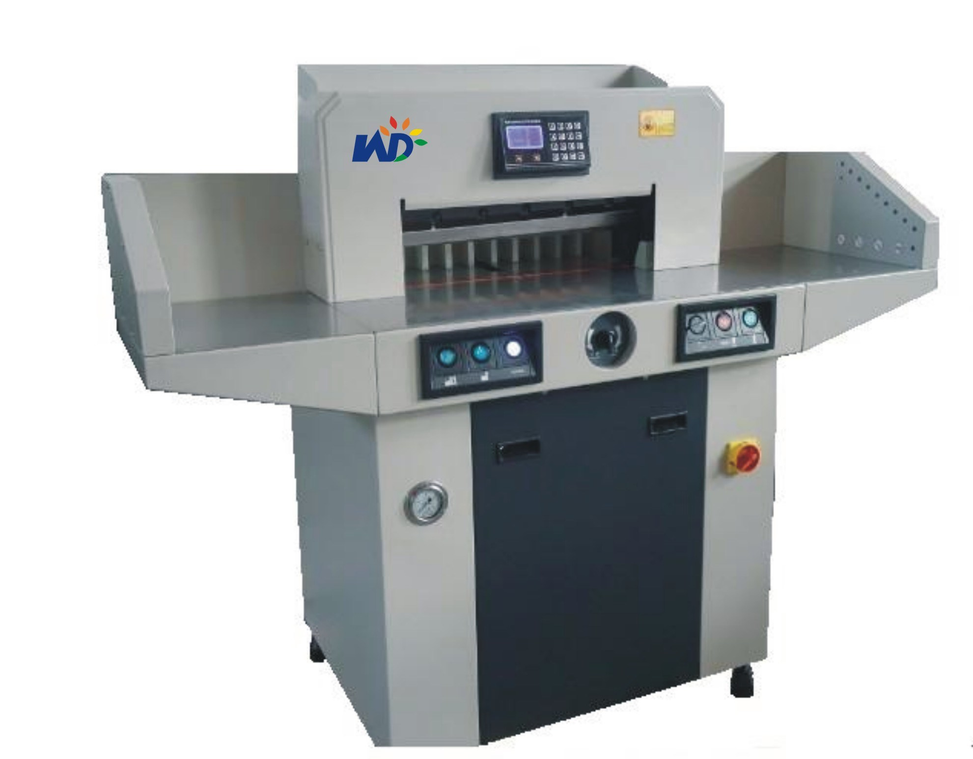 Factory (WD-670HP) with Side Table Program-Control Paper Cutting Machine Hydraulic Paper Cutter with Table