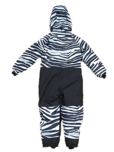 Zabra Hooded Reflective Waterproof Jumpsuits for Baby/Children pictures & photos