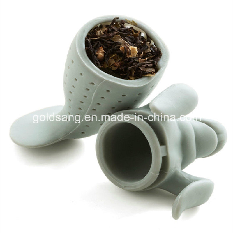 Factory Outlets Eco-Friendly Sea Lion Shape Silicone Tea Infuser pictures & photos