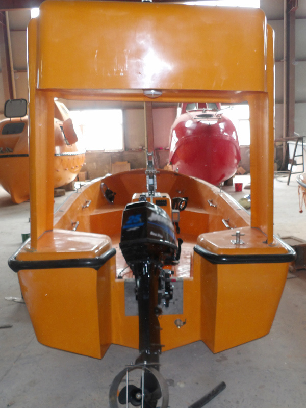 GRP Fire Resistant Open Type Rescue Boat