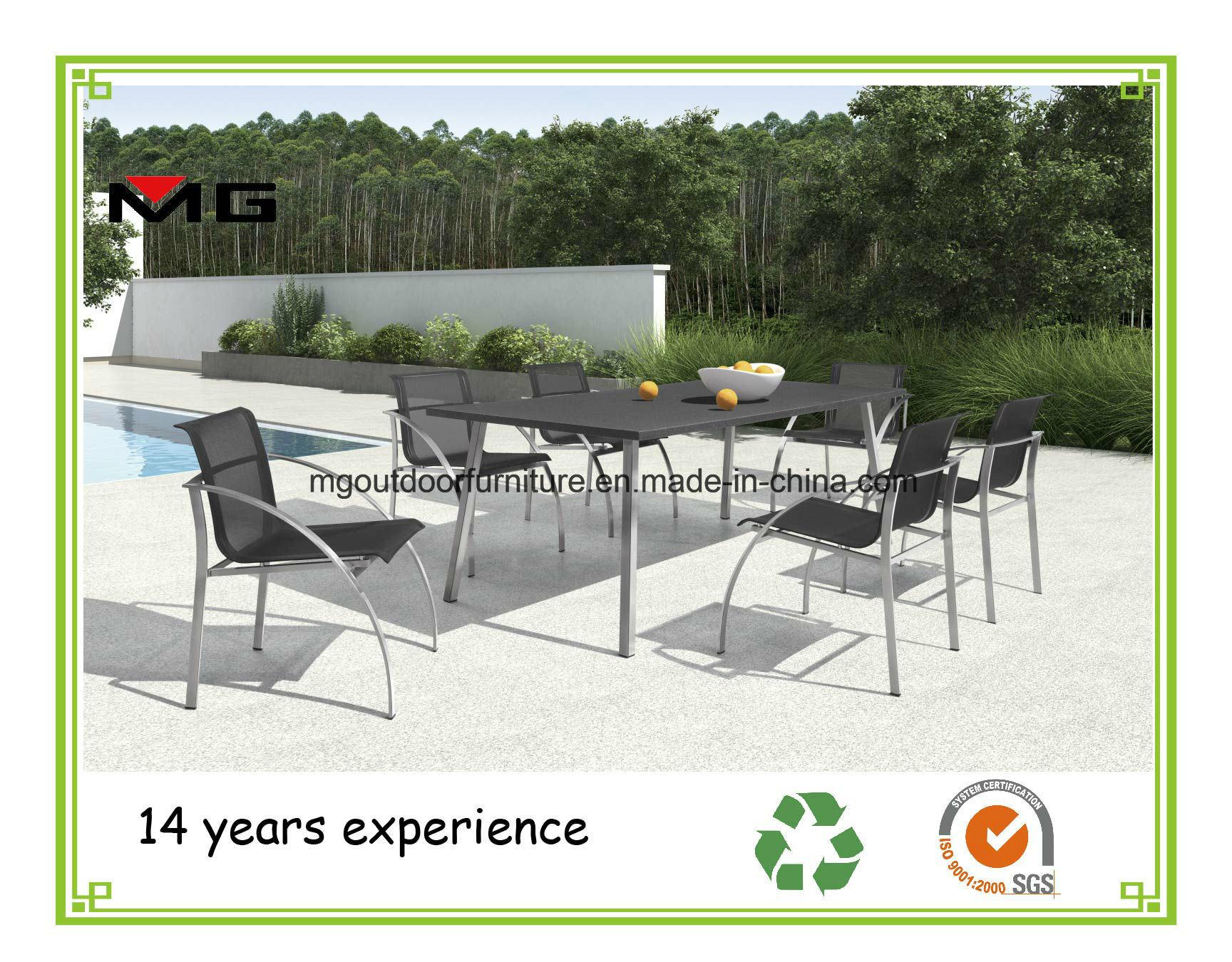 China Outdoor Dining Furniture Garden