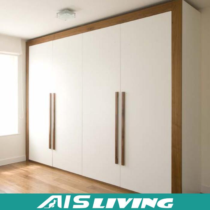 China Modern Bedroom Solid Wood Custom Wardrobe Closet Ais W146 China Wardrobe Closet