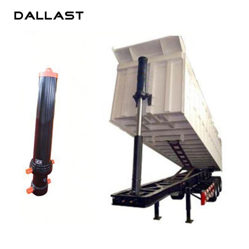 China Stainless Dump Single Acting Hydraulic RAM Trailer Pressure ...