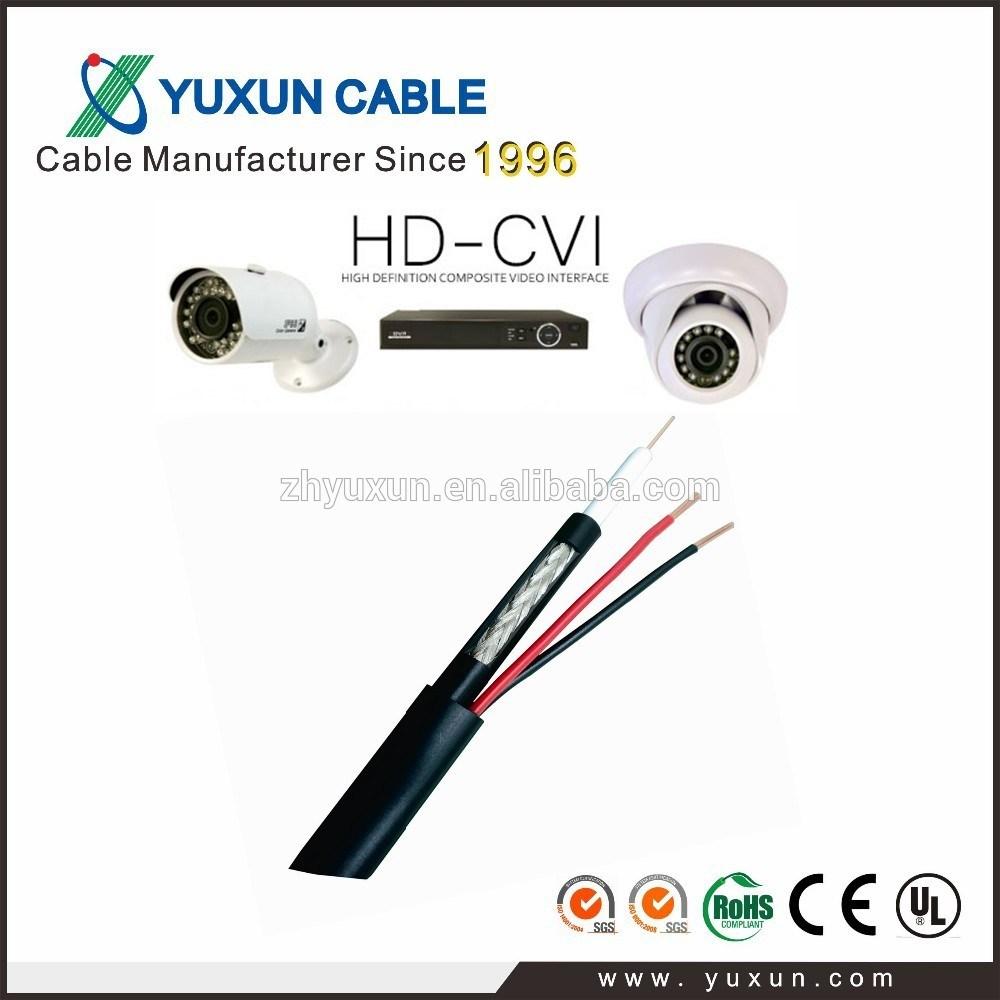 China High Quality HD Cvi Camera Use Rg59 Siamese Cable - China Rg59 ...