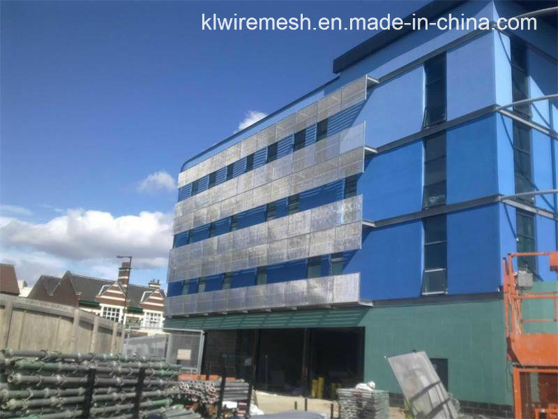 China Tec-Sieve Architectural Stainless Steel Crimped Woven Metal ...