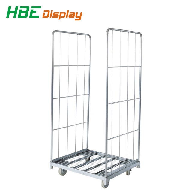 [Hot Item] Logistic Warehouse Roll Cage Container Trolley Cart