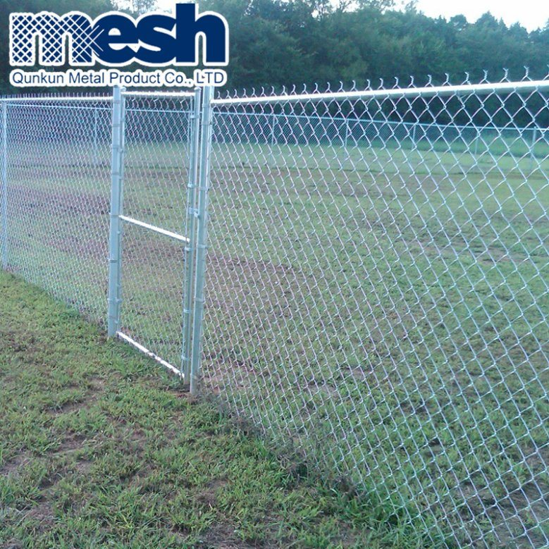 China Low Price of PVC Coated Diamond Chain Link Fence on Sale ...