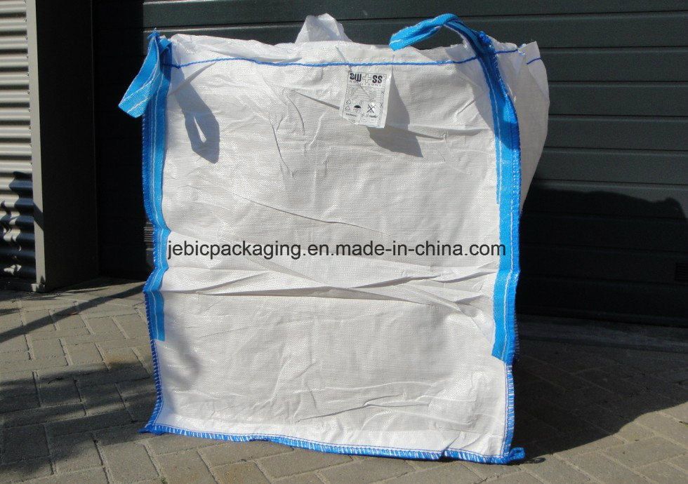 1000kg Overlock Stitching Open Top FIBC Big Bag pictures & photos