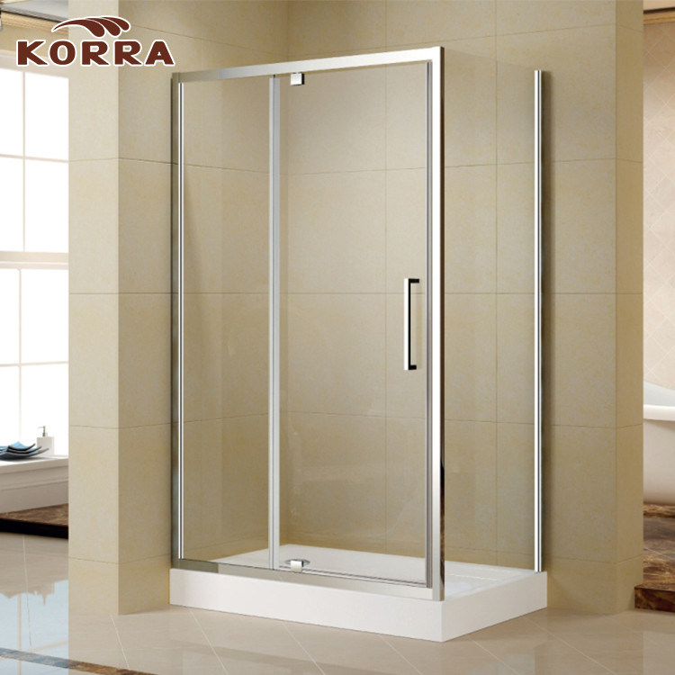 China Rectangle Shower Enclosure with One Pivot Door - China Shower ...