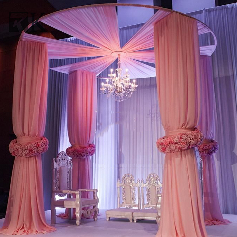 Whole Adjule Pipe And Drape Wedding Backdrop Stand For
