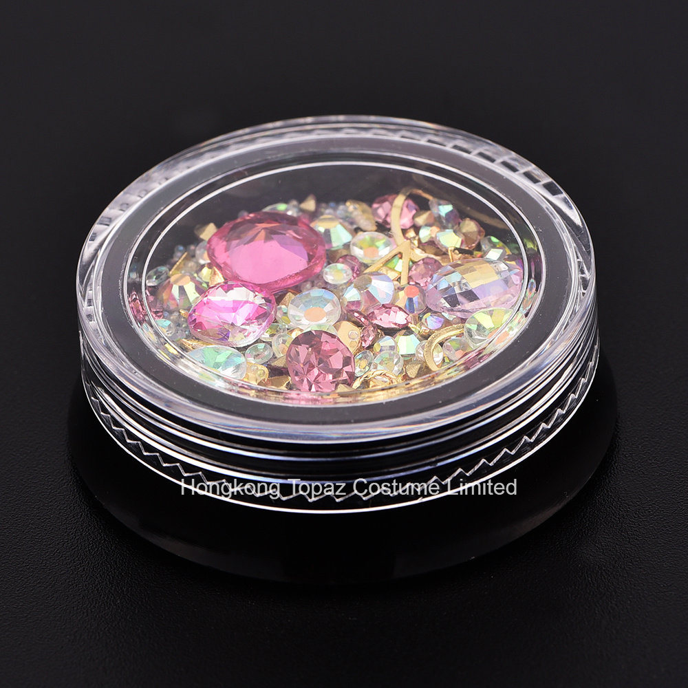 Factory Direct Sales Excellent Quality Nail Designs Art Accessories Rhinestones Decorations NR 22