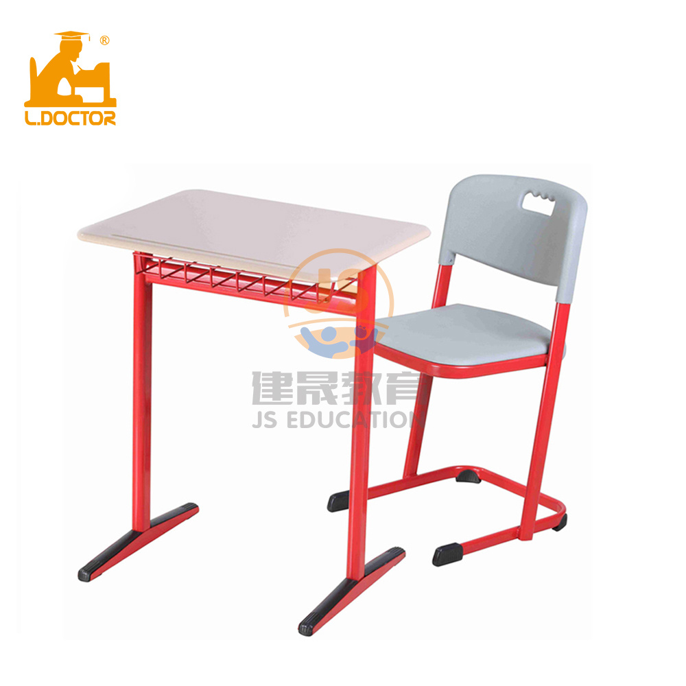 [Hot Item] University Furniture Metal Student Desk and Chairs for High  School