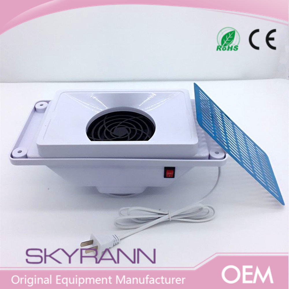 China Nail Dust Collector Extractor Fan Nail Technician Table Top ...