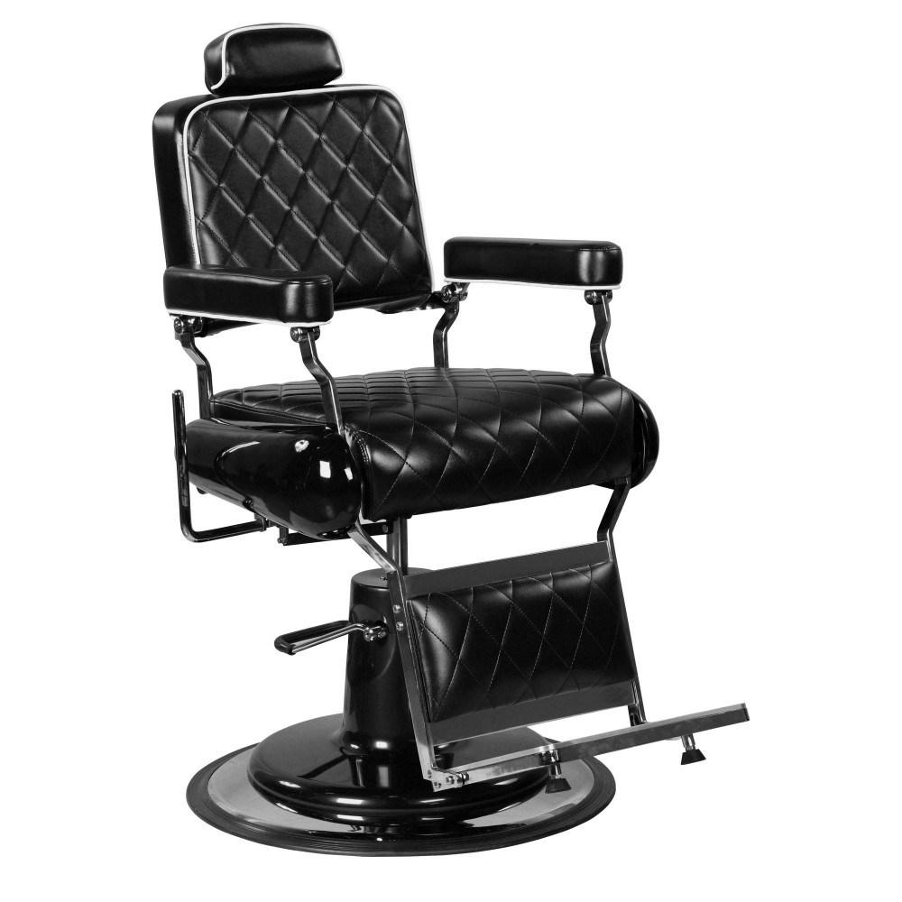 [Hot Item] Black Hydraulic Barber Chair Professional Reclining Hair Salon Chair
