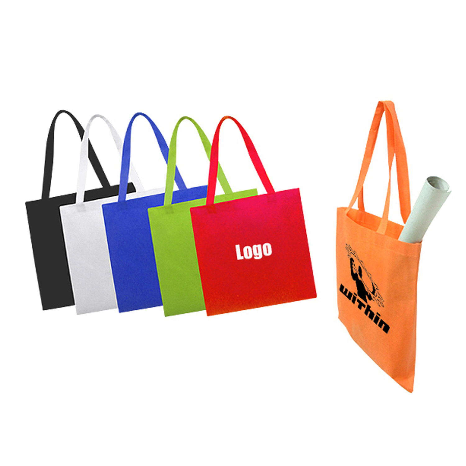 Promotional Non Woven Bag with Cusotmized Logo pictures & photos