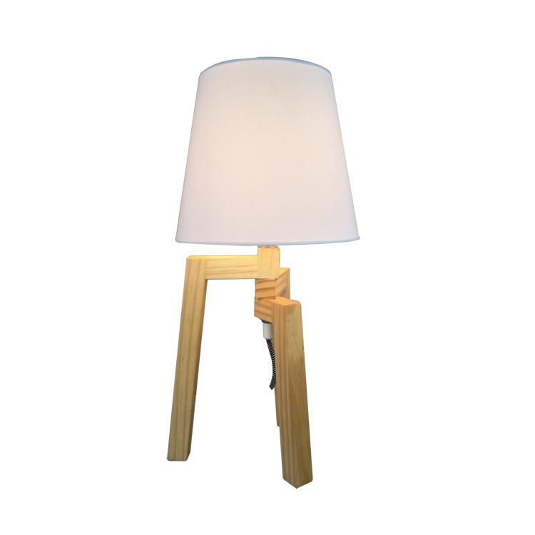 China Wooden Desk Lamp Modern Bed Side Table Lamp For Hotel Bedroom   China Modern  Table Lamp, Modern Desk Lamp