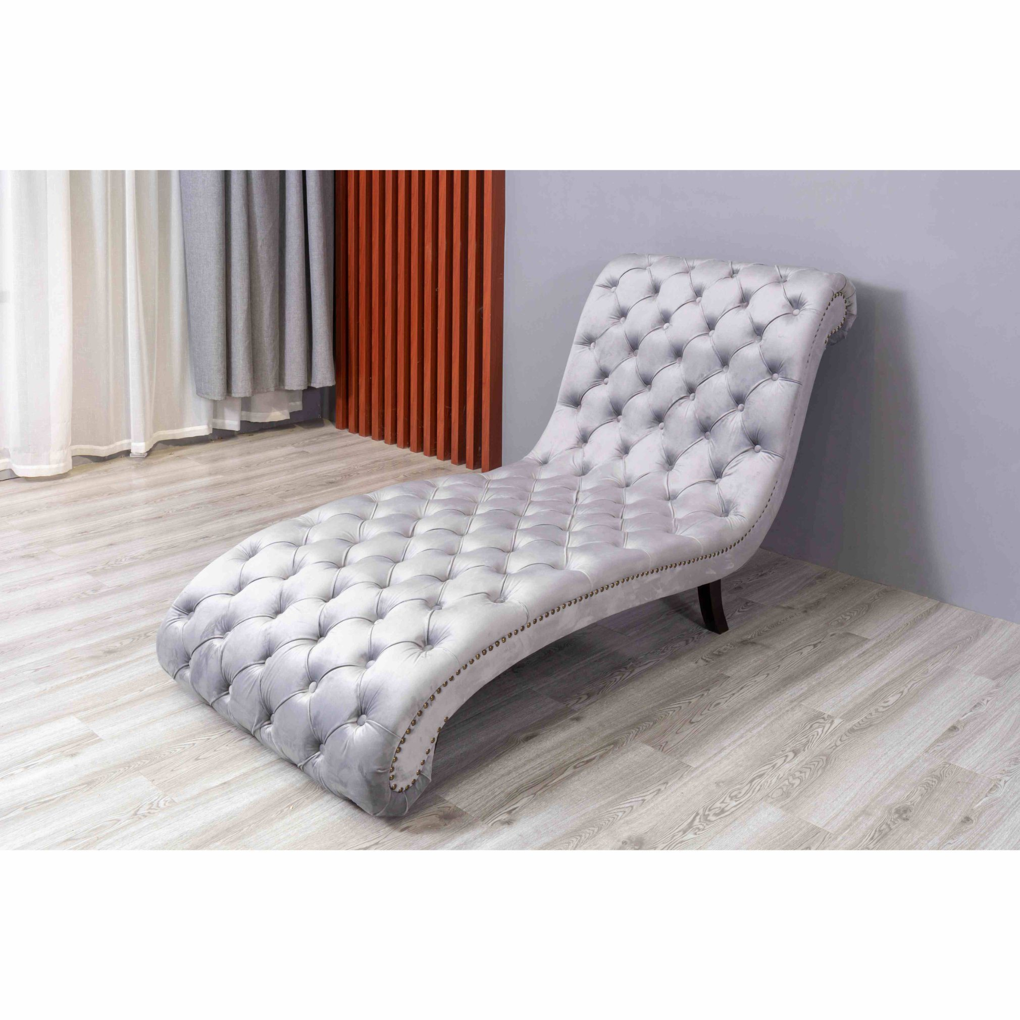 China Button Tufted Chaise Lounge Outdoor Chair Furniture Chair China Couch Living Room Sofa