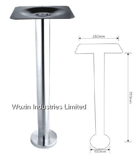 Cast Aluminum Table Legs Metal Coffee Base For 32