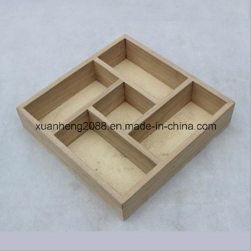 Simple Wooden Box Without Lid Empty Crate