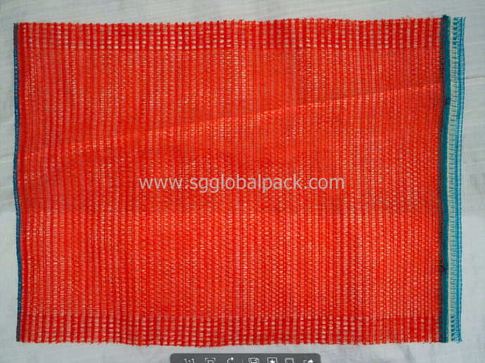 Chinese Manufacture Agricultural PE Circular Raschel Orange Bag pictures & photos