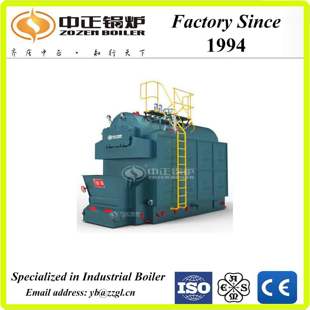 China DZL Series Butuminous Fired Horizontal Type Hot Water Boiler ...