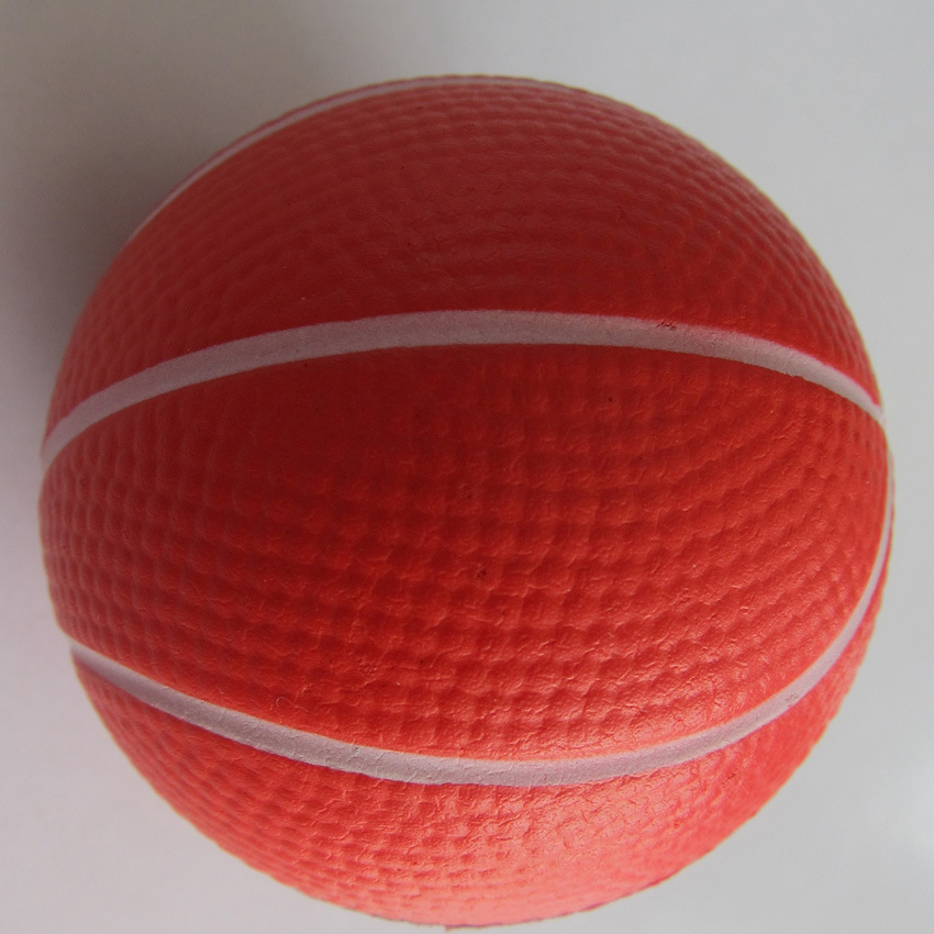 6.3cm PU Foam Basketball pictures & photos