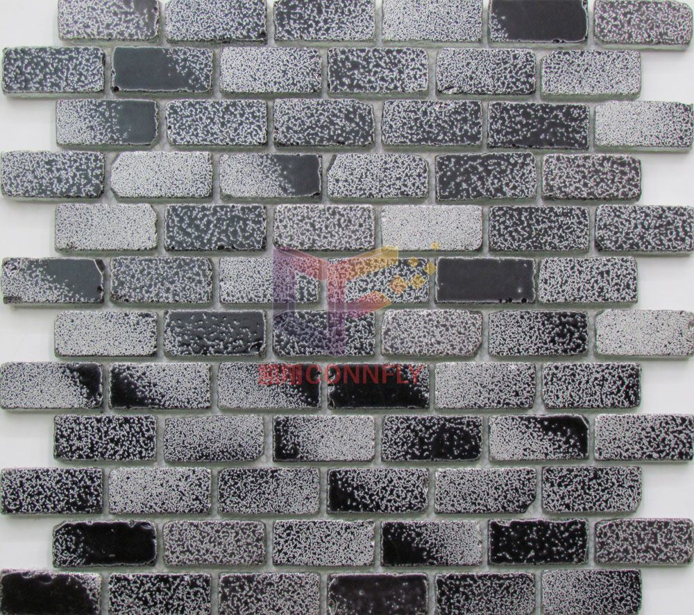 Broken Edge Glass Crystal Mosaic Tiles Cfc615