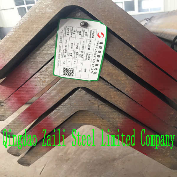 High Quality Angle Steel (Q235B/Q345B)