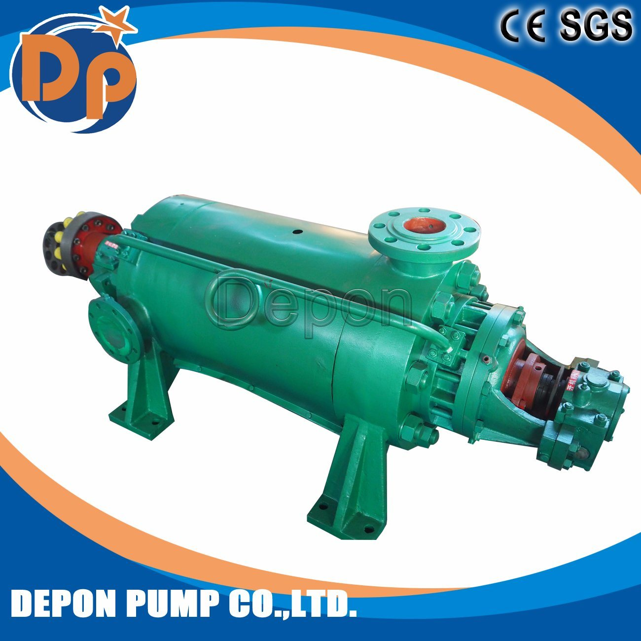 China Hot Water High Pressure Boiler Feed Water Pump - China Water ...