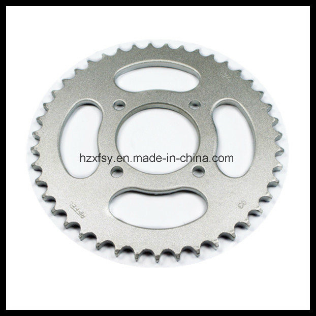 for Suzuki Katana 125 Sprocket 43t+14t 45mn Motorcycle Chain Sprocket pictures & photos