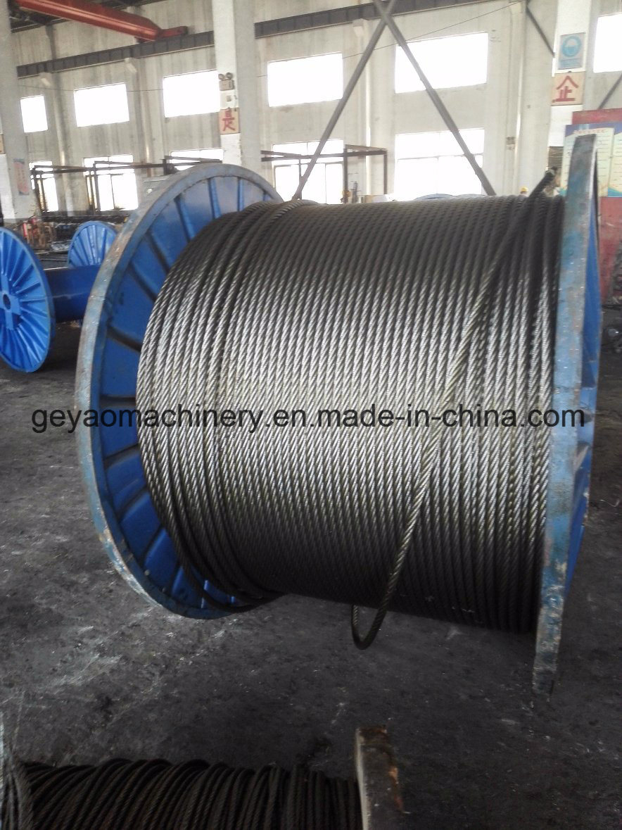 China Bright 6*19 FC Steel Wire Rope (Fiber core) - China Wire Rope ...