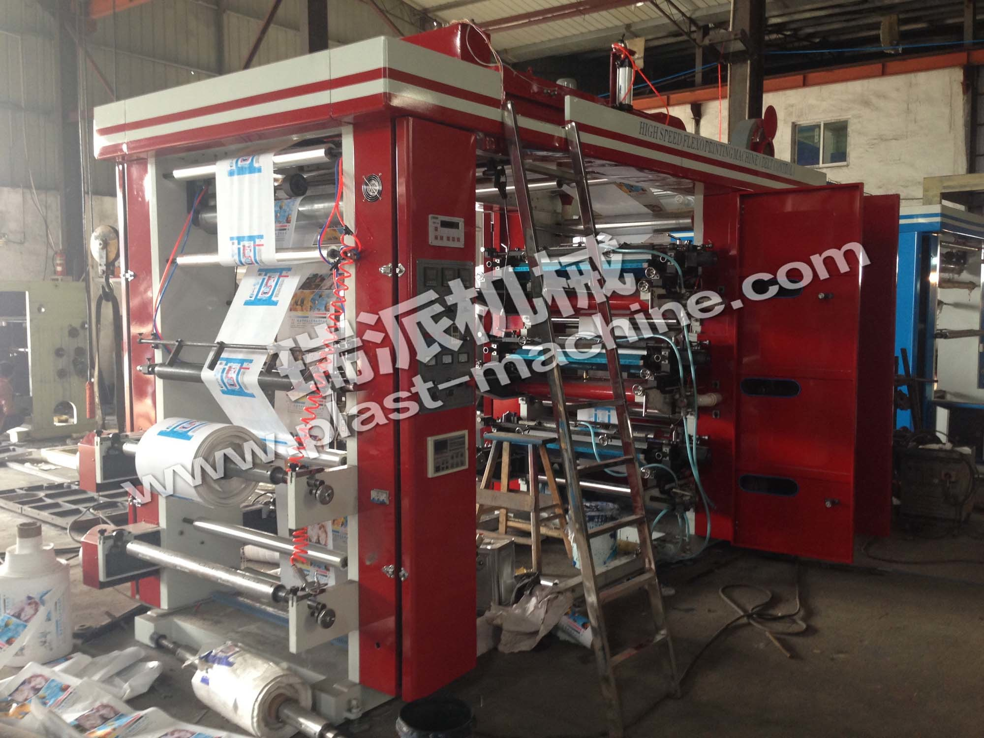 High Speed 6 Color Flexo Printing Machine with Advanced Quality pictures & photos