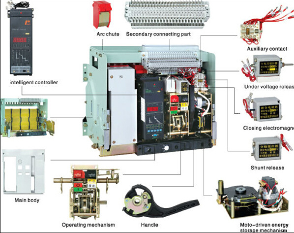 China Dw45 Acb Intelligent Universal Air Circuit Breaker