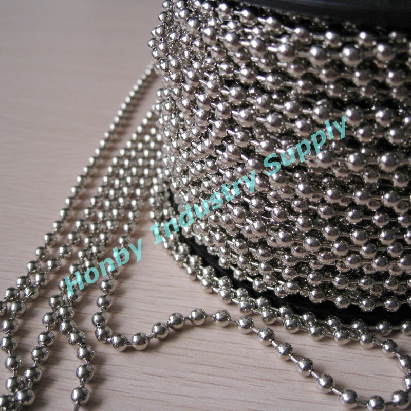 China 4 5mm 10 Stainless Steel Roller Blind Ball Chain