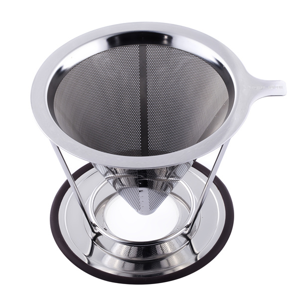 304 Stainless Steel Cone Coffee Filter