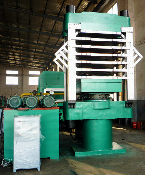 EVA Foaming Hydraulic Press Machine / EVA Foam Press Machine / Rubber Soles Making Machine