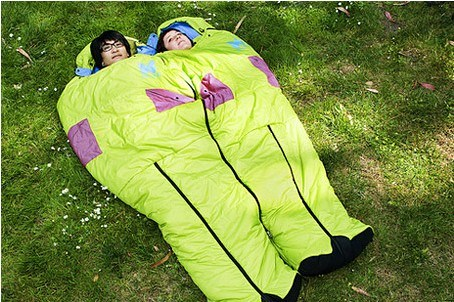 Hot Item Good Quality For Sleeping Bag Two People