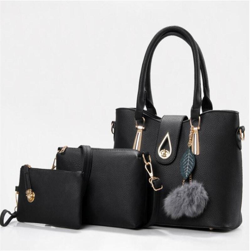 fc94e4c1a4 New Design Handbags Elegant Lady Hand Bag PU Leather Tote Shoulder Bag