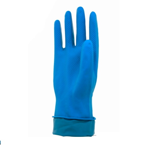 Reliable Quality Blue Color Latex Glove