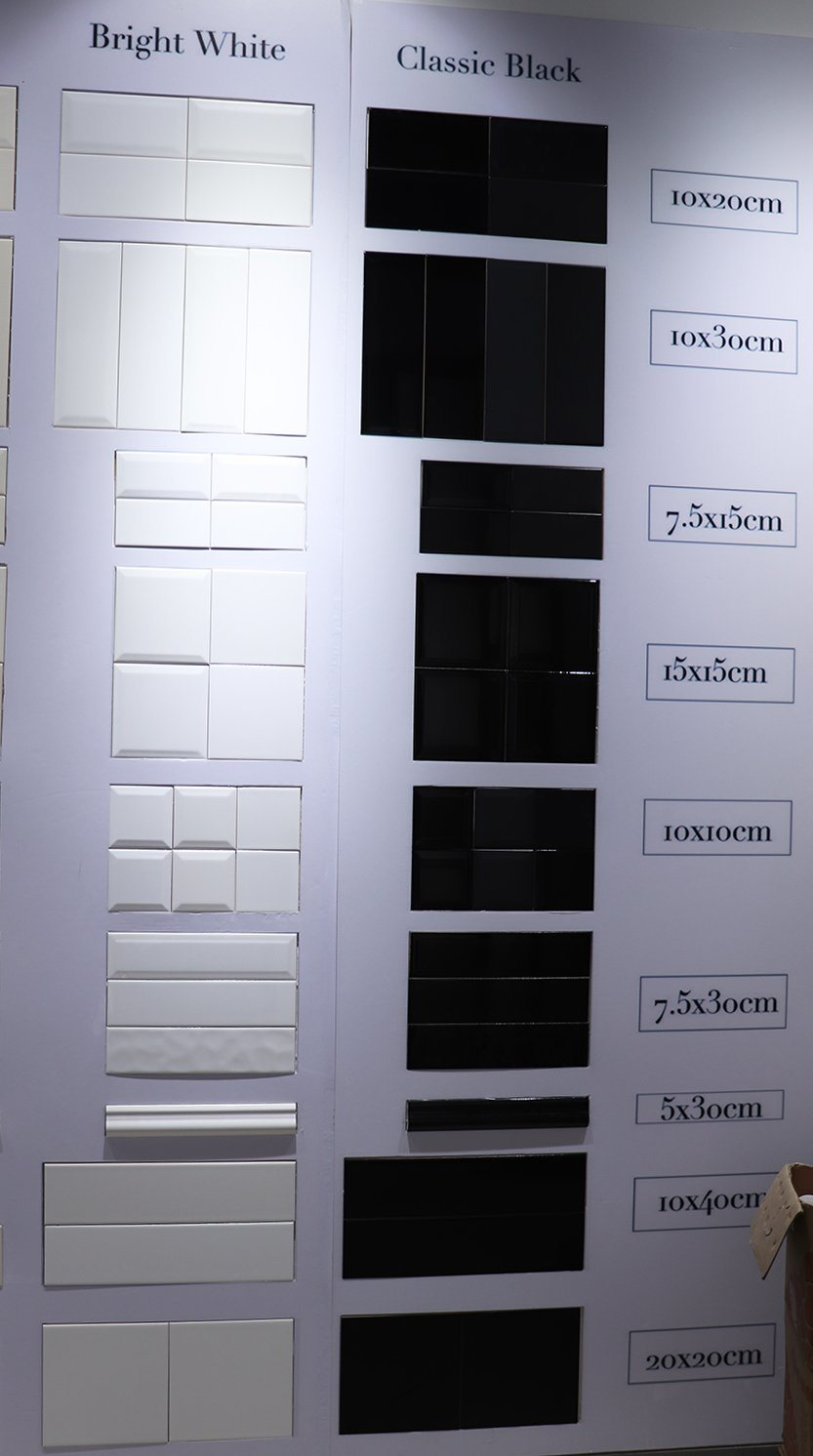 China White 4x16inch10x40cm Turkish White Marble Tile Standard