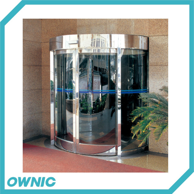 China Automatic Curved Sliding Door For Hotels China Automatic