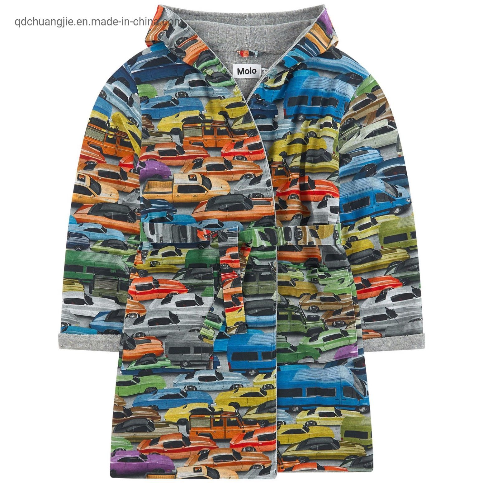 China Kids Boys Car All Over Safe Printing Softy Carton Design Little Age Cute Bath Robes Photos Pictures Made In China Com