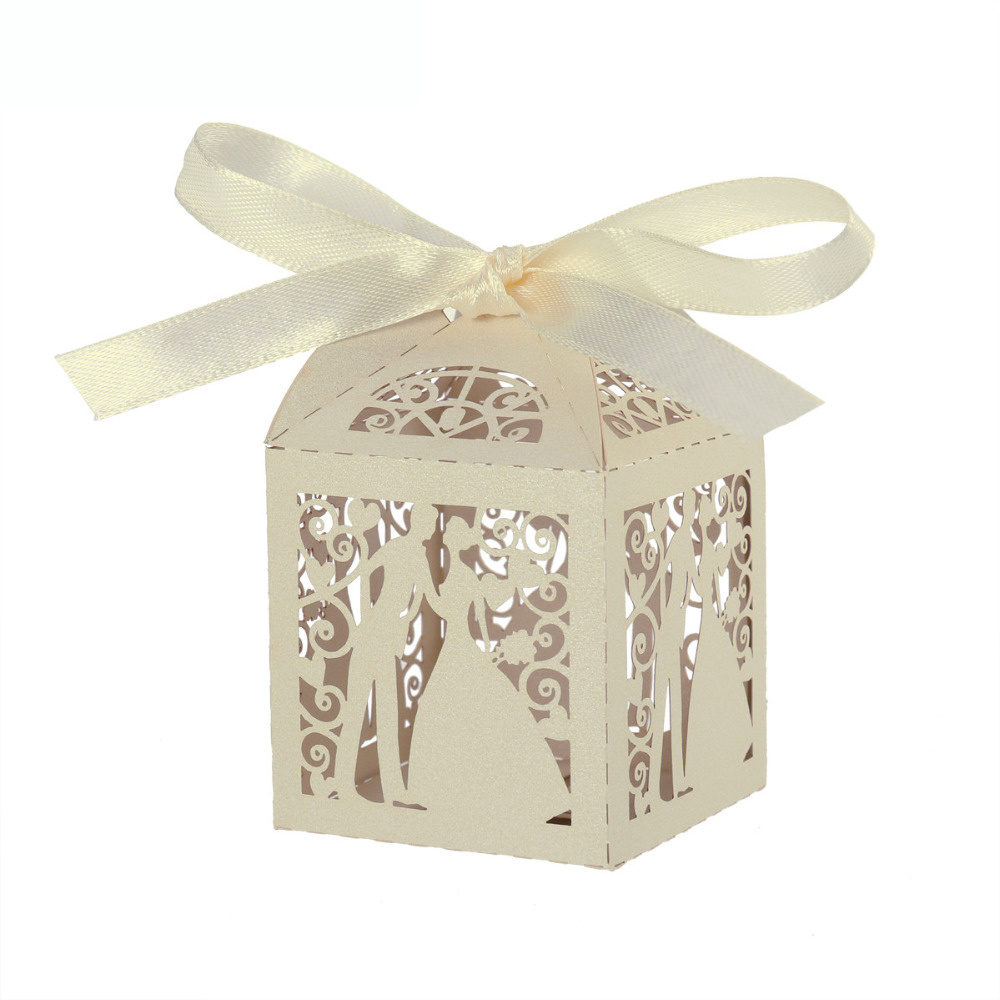 China Wedding Sweets DIY Candy Gift Favour Boxes Party Candy Folding ...
