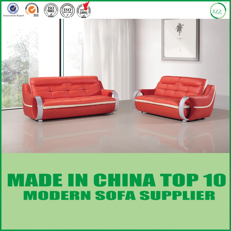 Remarkable Hot Item Modern Contemporary Leather Sectional Sofa Couch With Aluminum Armrest Ncnpc Chair Design For Home Ncnpcorg