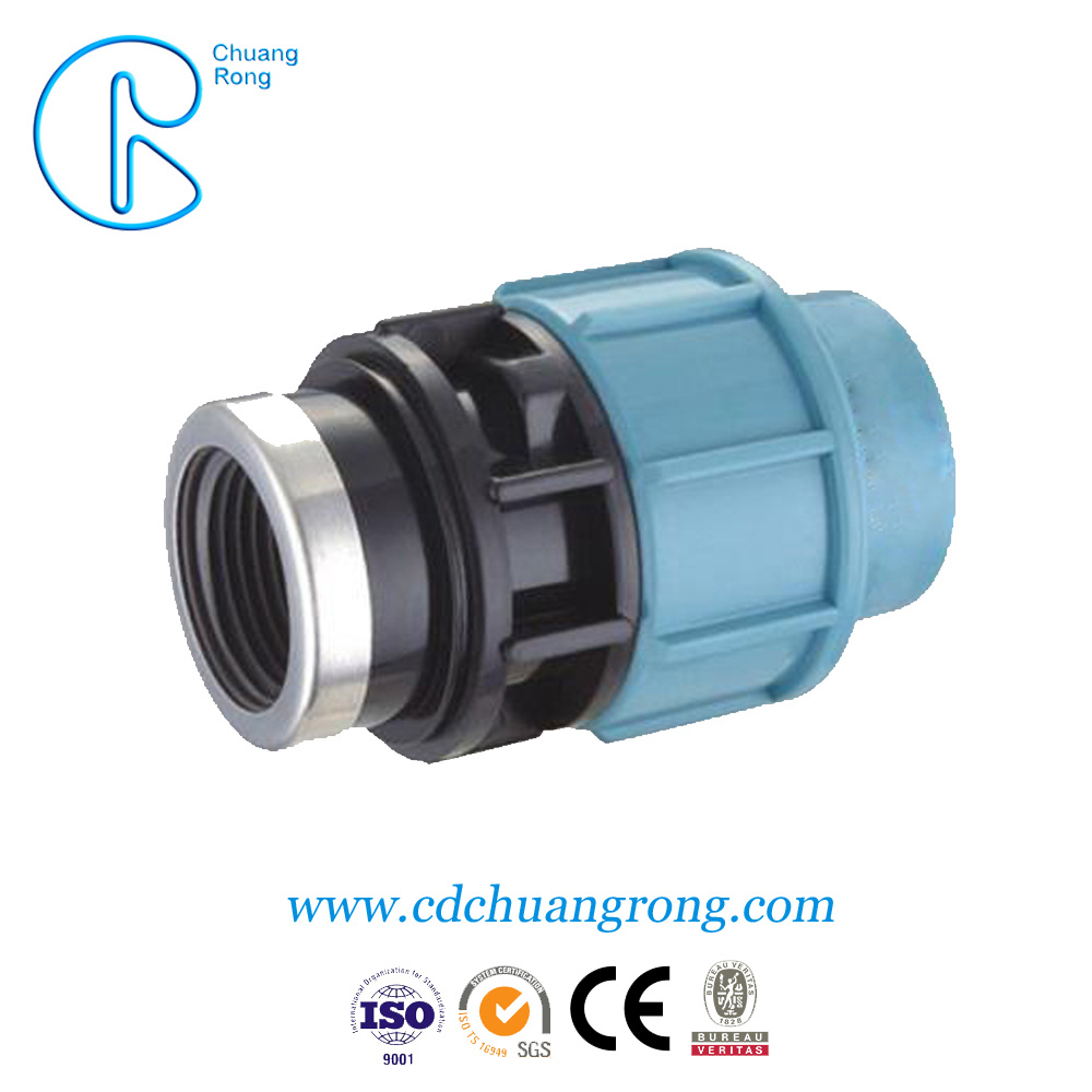 110mm HDPE Pipe PP Compression Male Adaptor Fittings pictures & photos