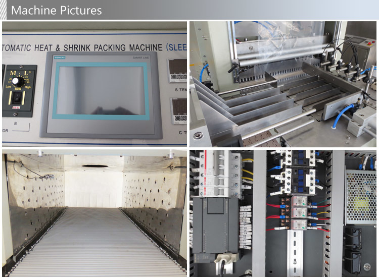 Automatic Medicine Bottle Heat Contraction Packing Machine pictures & photos
