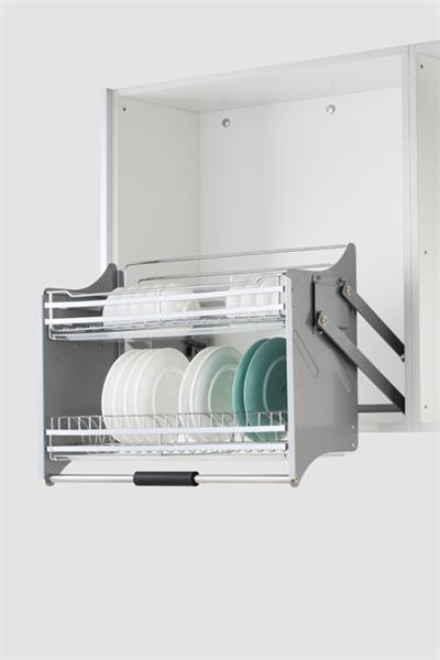 China Dommagic Kitchen Cabinet Pull Down Storage Basket China Stainless Steel Kitchen Pull Down System Kitchen Cabinet Pull Down Wire Baskets