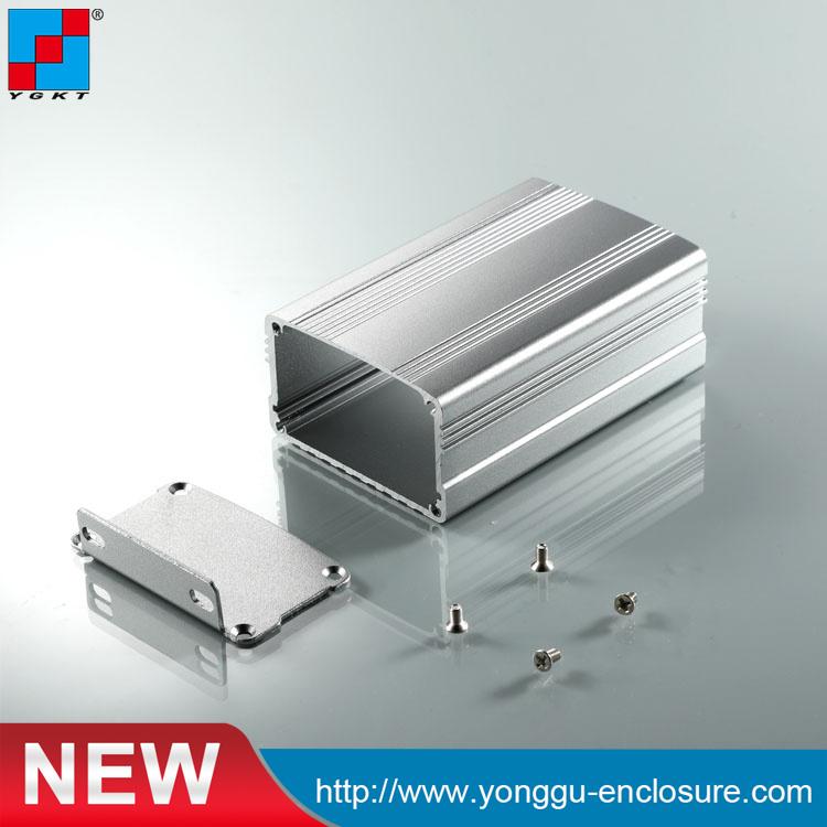al6063 extruded split aluminum enclosure for circuit board 6338mmal6063 extruded split aluminum enclosure for circuit board 6338mmchina al 6063 anodized box aluminium alloy extrusion